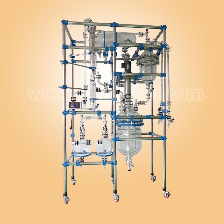 50L multifunctional glass reactor