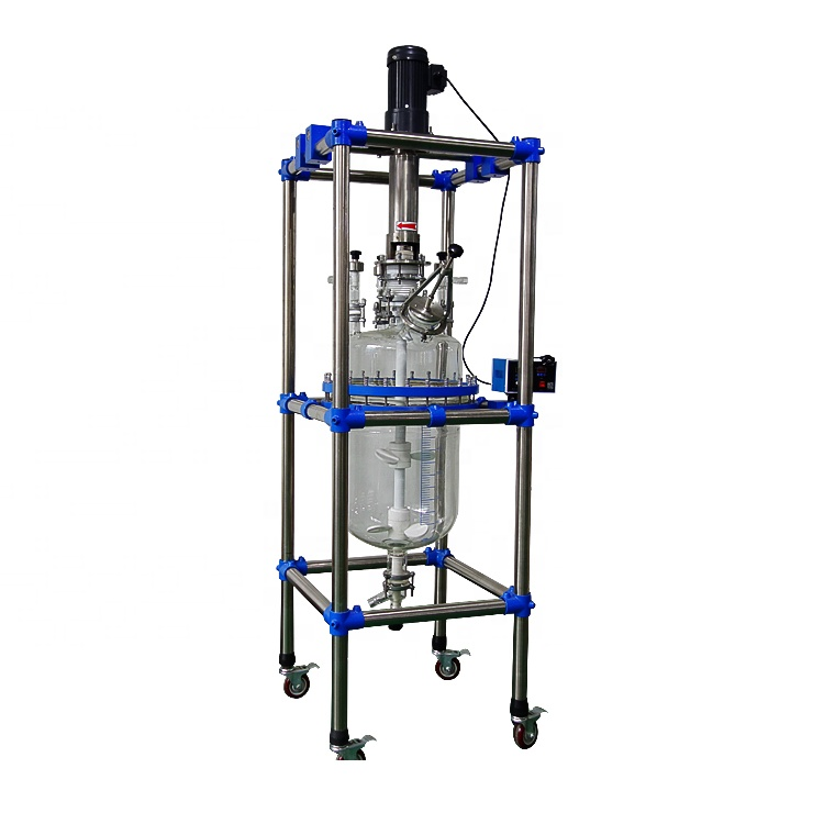10L 20L 50L Single layer glass reactor