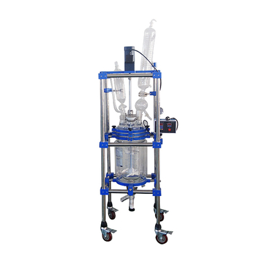 10l Lab Vacuum Distillation Jacketed Glass Reactor