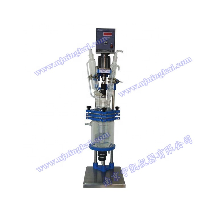Ultrasonic Glass Reactor for Lab