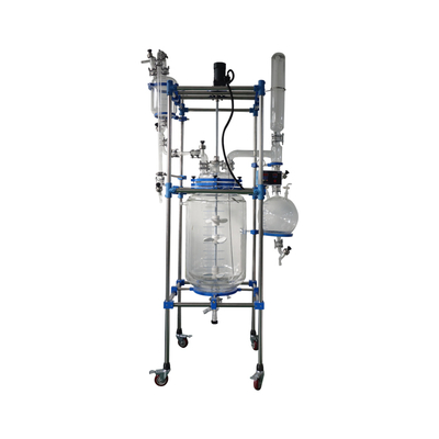 100L glass reactor